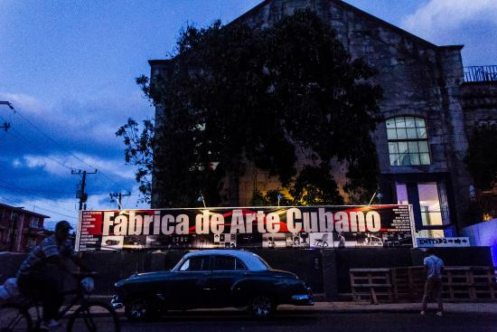 Best Nightlife in Havana - Fabrica Del Arte cubano